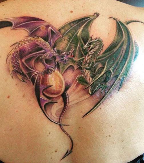 Drachen Tattoo 20 Tattoo Ideen Für Beeindruckende Drachen Motive