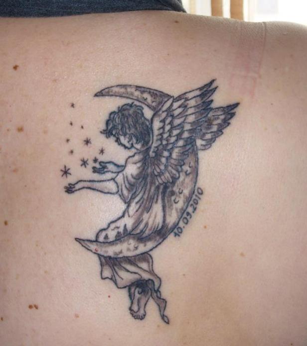 Engelsflügel Und Engel 20 Tattoo Ideen Für Alle Körperstellen