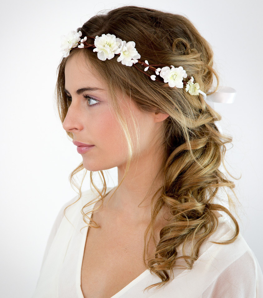 Bezaubernde Hochzeitsfrisuren Für Mittellanges Haar