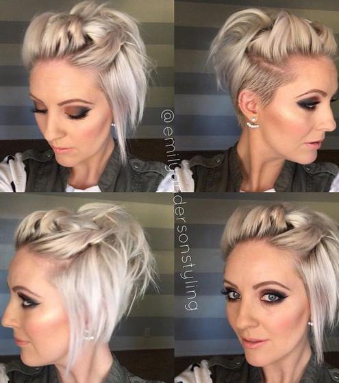 Kurze Haare Zum Dutt Modische Lange Frisuren
