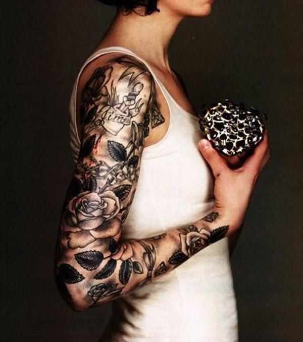 Ganz Arm Tattoo 20 Sexy Und Feminine Tattoo Ideen Für Den Arm