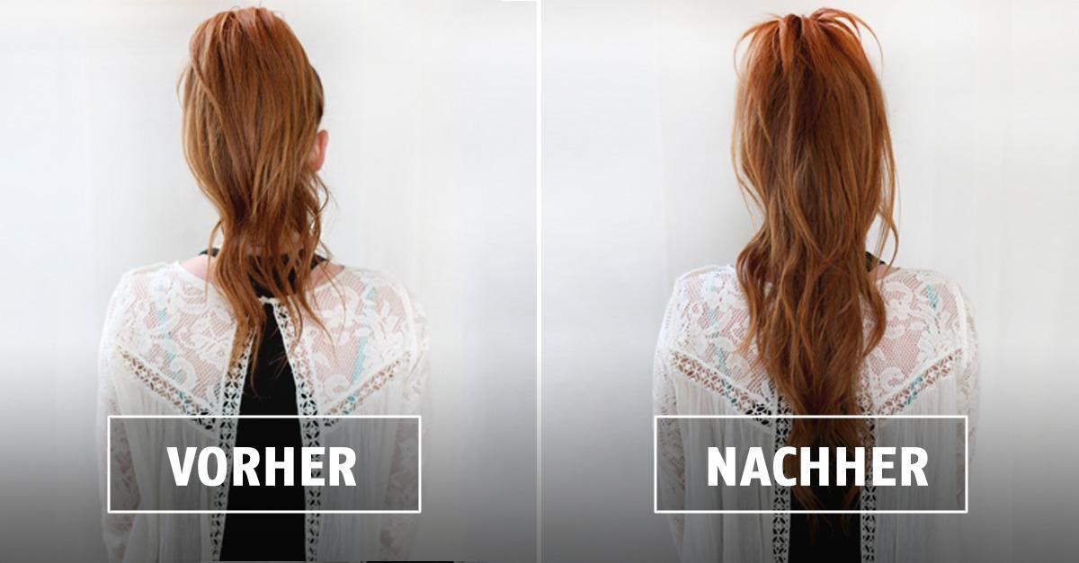 Gute Tipps So Wirken Deine Haare Länger