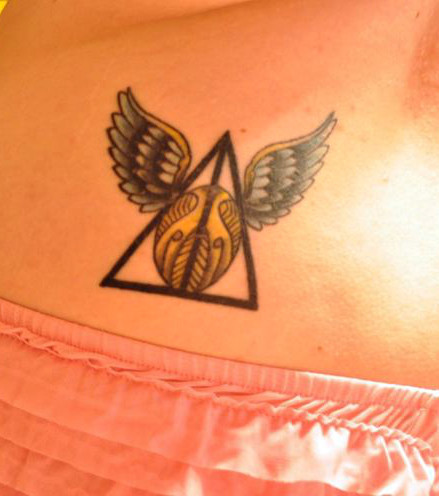 Harry Potter Karte Des Rumtreibers Tattoo.20 Magische Harry Potter Tattoos