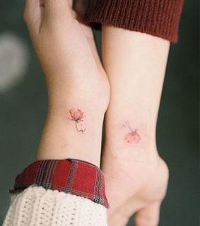 Partner tattoos beste freundin