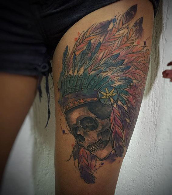 Indianer Tattoo 20 Beeindruckende Motive Fur Frauen