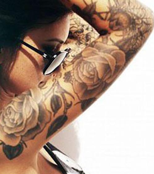 Rosentattoos 20 Tattoo Vorlagen Zur Inspiration Für Alle Körperpartien