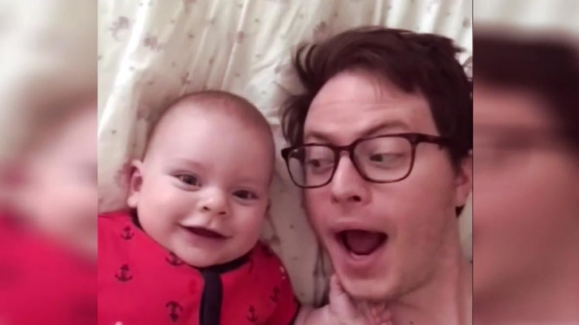 Baby Mit Papa Alleine Lassen