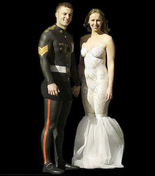 Die hässlichsten Hochzeitskleider
