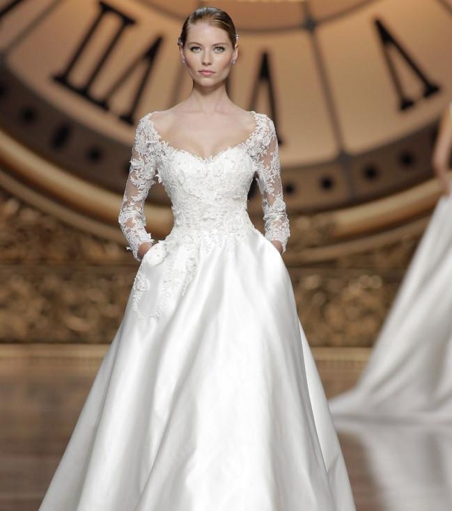 Hochzeitskleider 2016 : Die schönsten langärmeligen Kleider