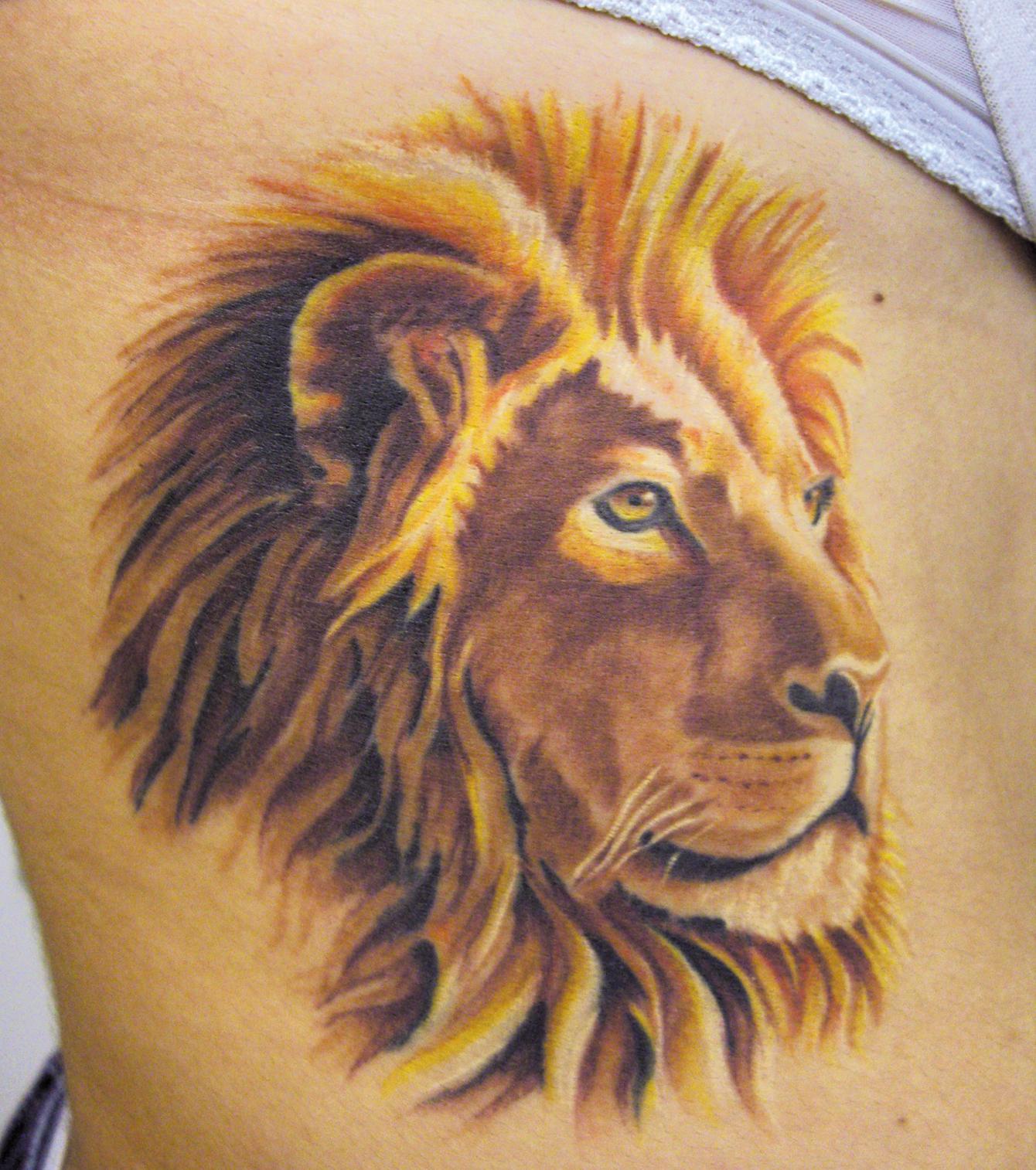 Löwentattoo 20 Majestätische Tattoo Ideen Für Frauen