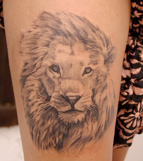 Lowentattoo 20 Majestatische Tattoo Ideen Fur Frauen