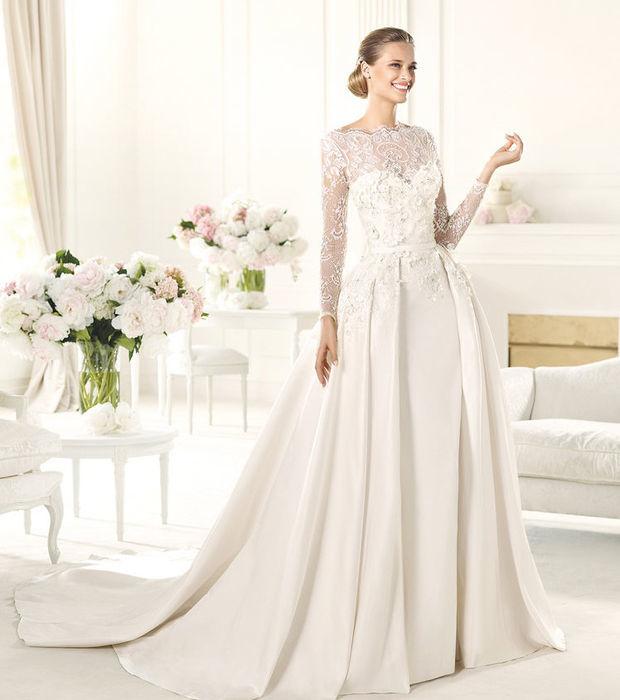 Hochzeitskleider mit Spitze: freier Rücken, Vintage, Boheme - die Trends
