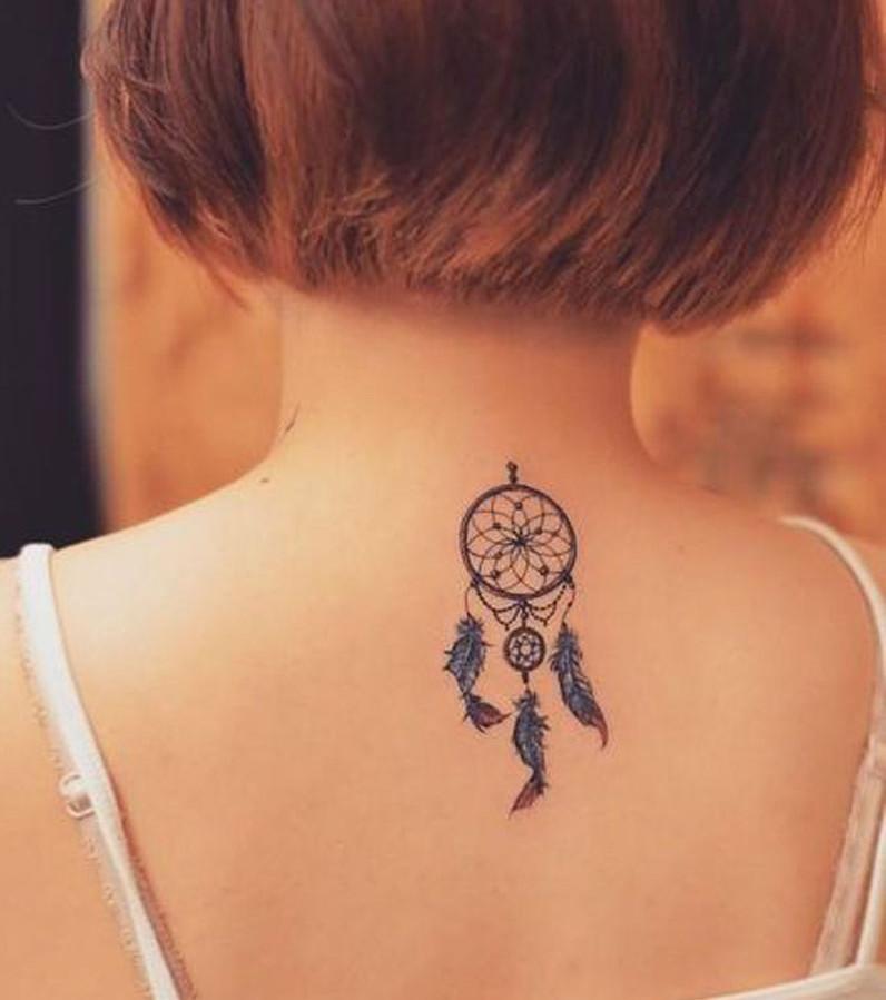 Nacken Tattoo 20 Tattoo Ideen Fur Frauen