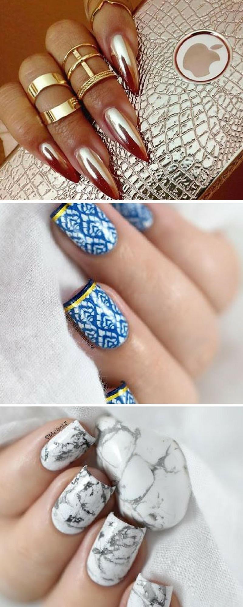 Maniküre: Die schönsten Nail-Art-Designs zur Inspiration