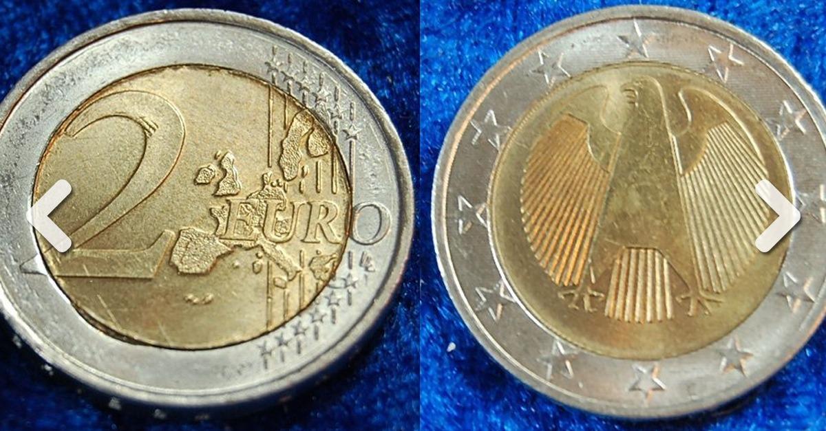 Seltene 2 Euro Münzen 2002