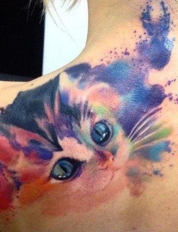Aquarell Tattoo 15 Einzigartige Watercolor Tattoos Zur Inspiration