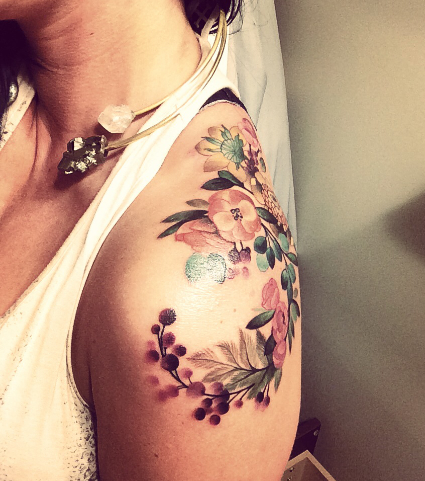 Blumen Tattoo 20 Tattoo Vorlagen Zur Inspiration Für Alle Körperpartien