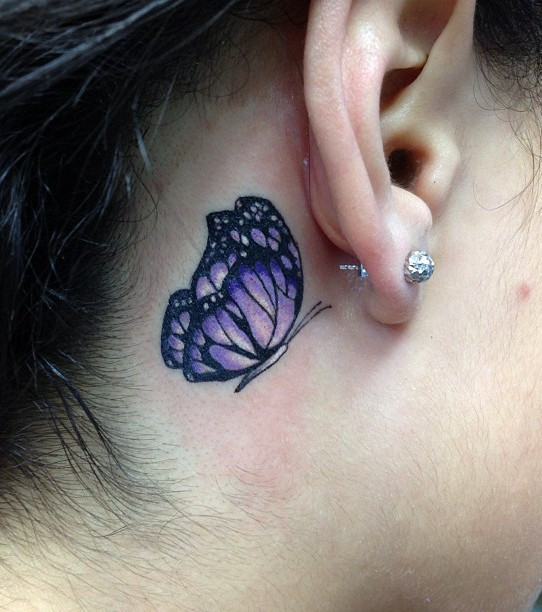 668cfcc6e Ohr-Tattoo: 20 Tattoo-Vorlagen zur Inspiration
