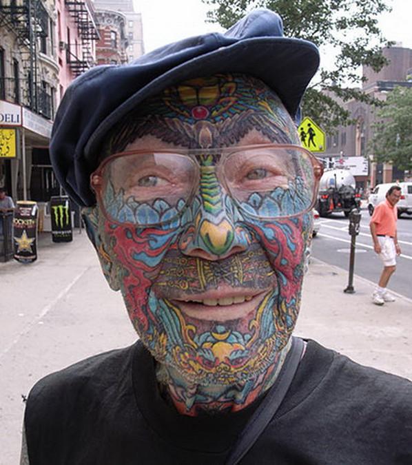 Der Beweis Tattoos Altern Nicht