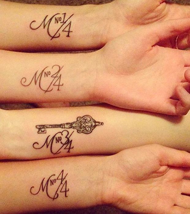Wunderschöne Geschwister Tattoos Die Wirklich Unter Die
