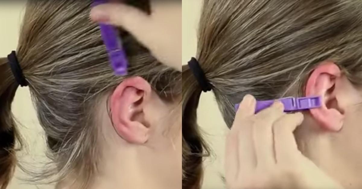 Akkupressur: Was eine Wäscheklammer am Ohr so alles bewirken kann