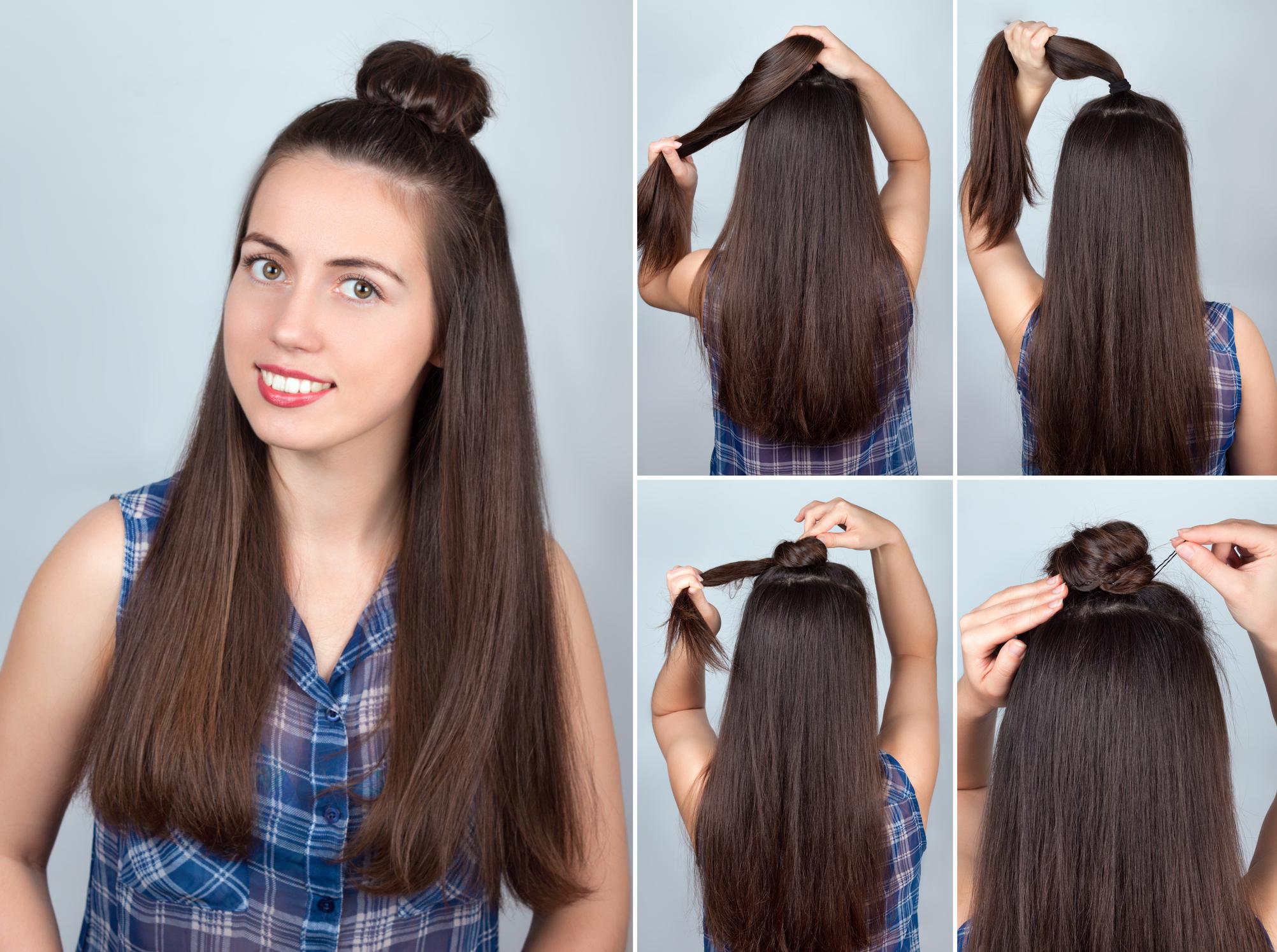 Offen haare frisuren anleitung lange Schön Frisur