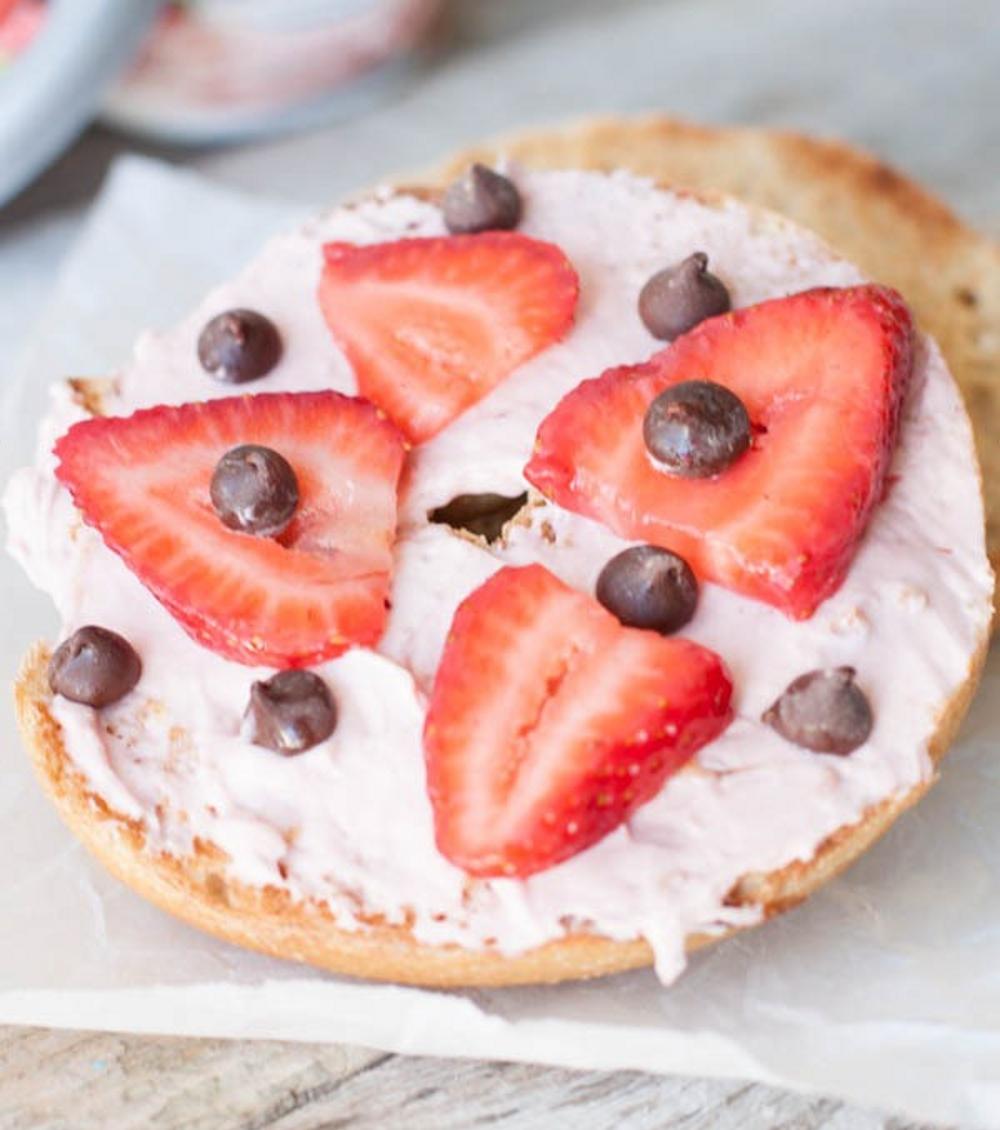 Essen wie in New York: So geht der Cheesecake-Bagel