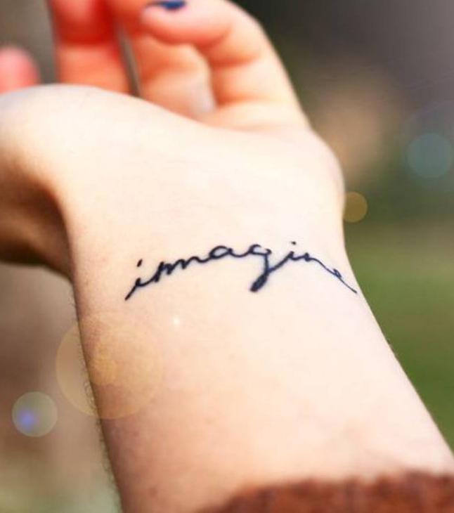 Fein Und Feminin Kreative Tattoo Ideen Fürs Handgelenk