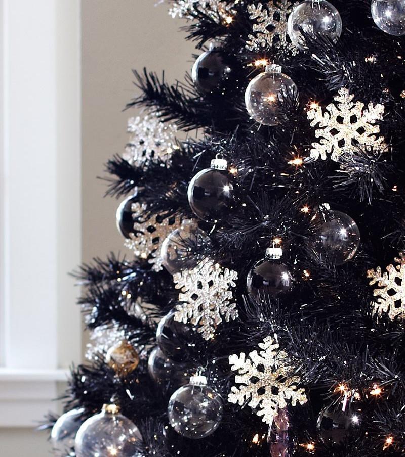 Weihnachtsbaum Schwarz Weiß.Weihnachtsdekoration Die 12 Schönsten Weihnachtsbaumideen Die Wir