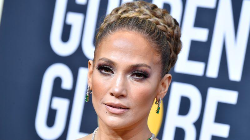 Jennifer Lopez: Mit ihrem Spitzenkleid für die Golden Globe-Party stiehlt sie allen die Show