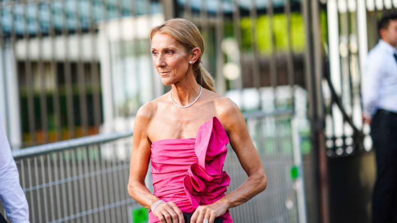 Abgedrehter Look: Céline Dion begeistert in Sweatshirt und Tutu