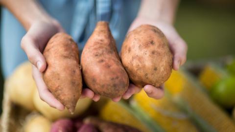 Diese 6 Dinge passieren mit deinem Körper, wenn du Süßkartoffel isst