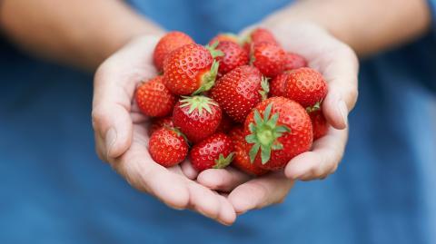 Dieser verrückte Zubereitungs-Tipp für Erdbeeren spaltet das Internet