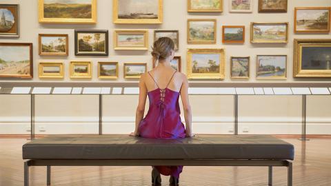 Bild im Museum enthüllt Besucherin ihre eigene schlimme Krankheit