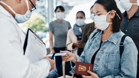 Corona: Schmuggel mit falschen Negativ-Testergebnissen wird am Flughafen Paris aufgedeckt