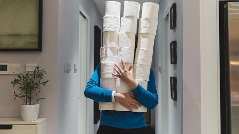 Giftige Chemikalien im Toilettenpapier schädlich für die Gesundheit