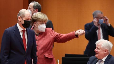 """""""Ich lasse mir nicht anhängen, dass ich Kinder quäle"""": Angela Merkel zu den Lockdown-Beschlüssen"""