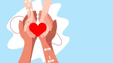 Weitergabe durch Blut: Darf ich nach der Corona-Impfung zur Blutspende?