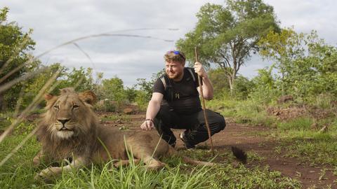 Er rettet diese Löwin als Junges vor dem sicheren Tod. Seht, wie sie nach zwei Jahren auf ihn reagiert