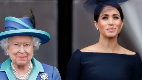 """Royaler Zwist: Die Queen ist von Meghans Verhalten """"schockiert"""""""