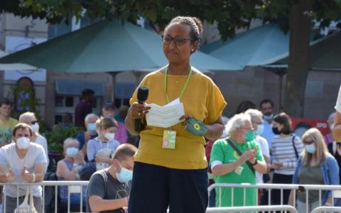 Awet Tesfaiesus ist die erste schwarze Frau, die in den Bundestag einzieht
