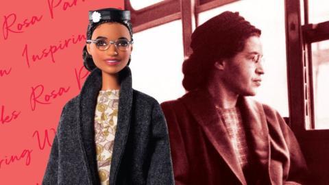 Mattel entwickelt eine Puppe zu Ehren von Rosa Parks