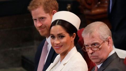 """""""Unglaublich peinlicher Onkel"""": Meghan Markle hat keine hohe Meinung von Prinz Andrew"""