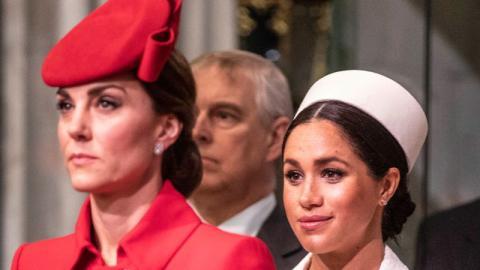 Eiszeit im Königshaus: Meghan und Kate würdigen sich keines Blickes
