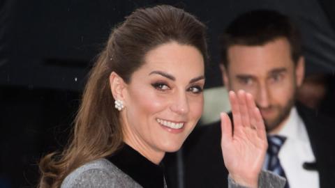 Royales Homeoffice: Kate Middleton begeistert mit ihrem strahlenden Look