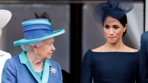 """""""Beleidigung gegenüber Meghan"""": Prinz Harry kommt Forderung der Queen nicht nach"""
