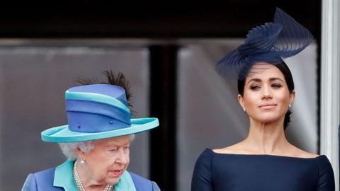 Royale Eiszeit: Meghan Markle hat die Queen mit ihren Aussagen zutiefst verletzt
