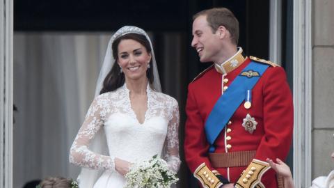 Das sagte Prinz William vor dem Altar zu seinem Schwiegervater