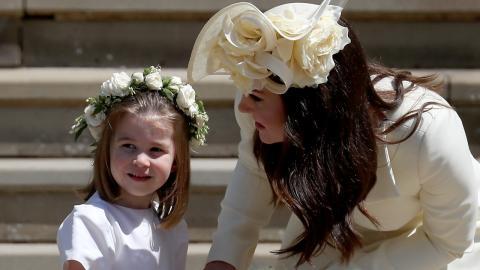 Neues Foto von Prinzessin Charlotte: So groß ist sie schon