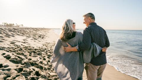 Ekelhafter Fund am Strand macht ein britisches Ehepaar reich